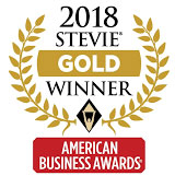 Gold Stevie Winner American Business Award 2018