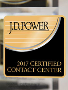 J.D. power award 2017 GES NATIONAL SERVICENTER